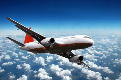 Ein Flugzeug